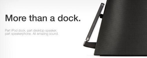 Audyssey Audio Dock voor iPhone