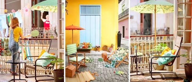 Balkon tuin IKEA nieuw