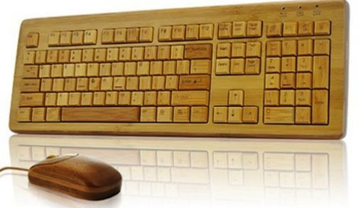 Bamboo Keyboard en Muis
