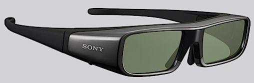 Batterijduur van Sony 3D bril