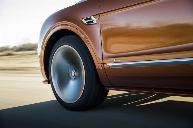 Bentayga Speed 8