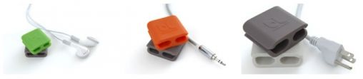 Bluelounge - CableClip_ Sleek, minimalist design solution for managing cables of all sizes