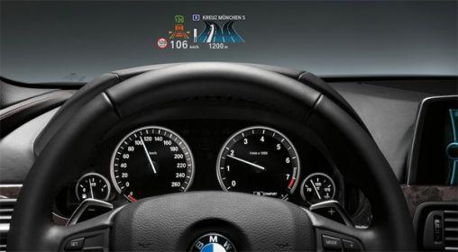 BMW 3 Serie Full-color heads-up scherm als Optie