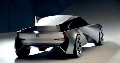 BMW Concept Car op Zonne-energie