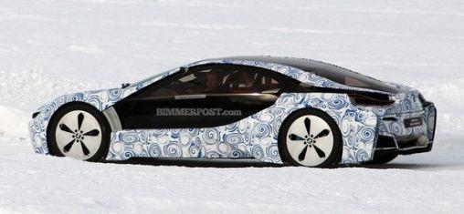 BMW i8 Prototype Gespot