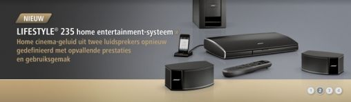 Bose introduceert Lifestyle 235 home entertainment-systeem