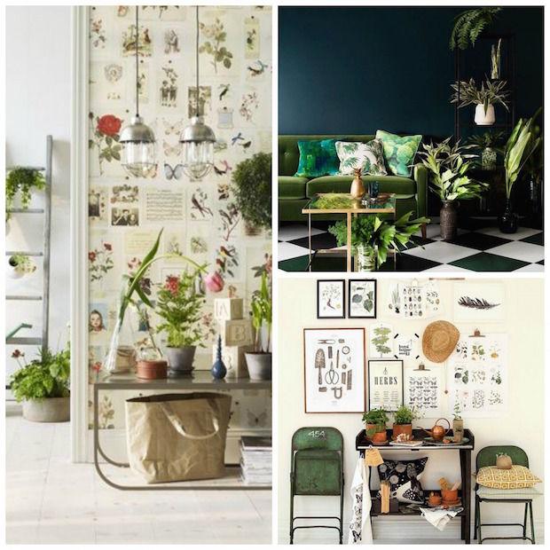 Botanische collage