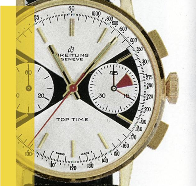 Breitling Top Time jaren 60