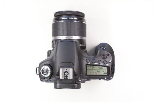 Canon 60D top