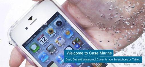 Case Marine voor iPhone 4(S) en Galaxy SII