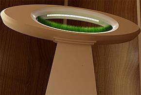 De Grass Lamp brengt de natuur op esthetische en innovatieve wijze in huis