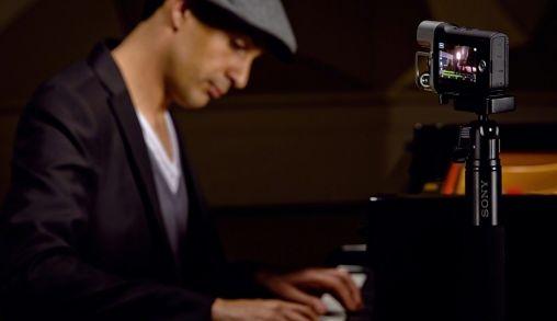 De Sony HDR-MV1 Music Video Recorder ideaal voor muzikanten