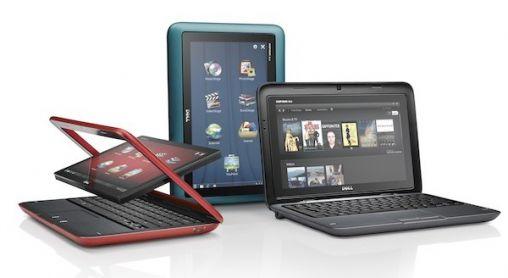 Dell Inspiron Duo: Netbook en Tablet in één