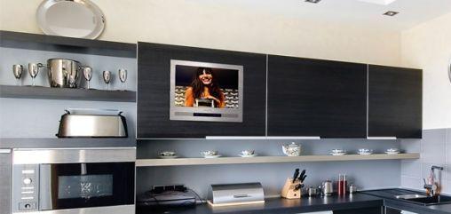 Design Inbouw Televisie voor Keuken