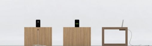 Design iPhone Tafel/Nachtkastje