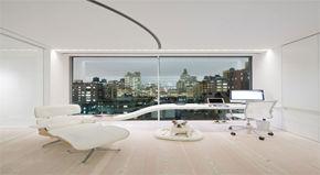 Een appartement uit de toekomst in New York