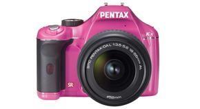 Een roze Pentax K-x voor de liefhebber