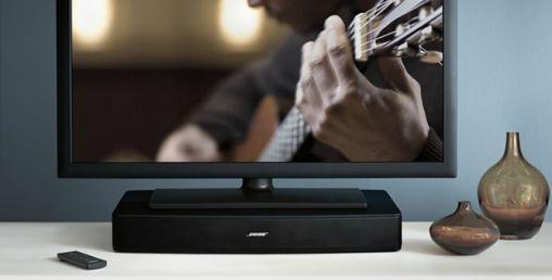 Eén speaker en één aansluiting met het Bose Solo TV Sound system