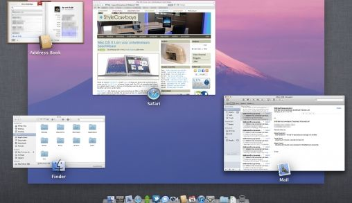 Eerste Ervaring MAC OS X Lion