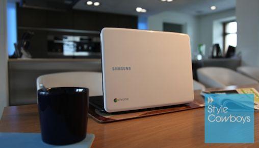Eerste ervaringen met  Chromebook van Samsung
