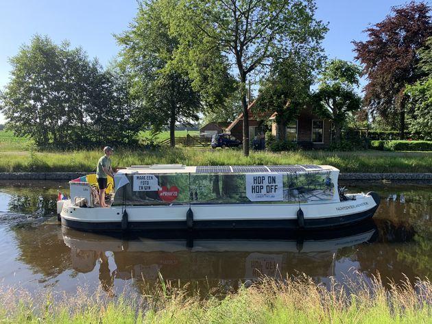 Elektrische boot huren Friesland