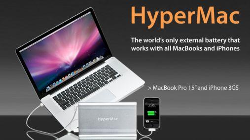 Externe Batterij voor 34 uur Mac Plezier