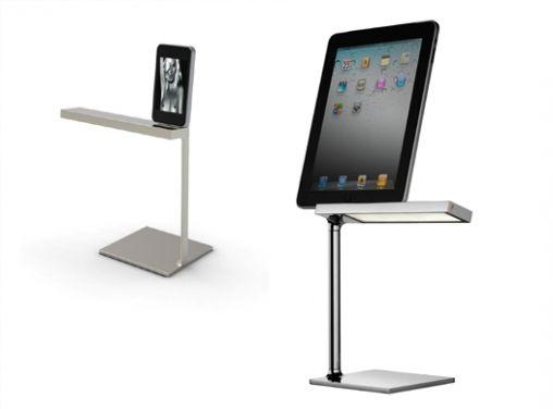 flos de-light bureaulamp iPad iPhone
