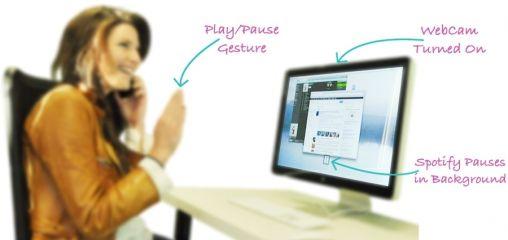 Flutter: Spotify bedienen met gebaren