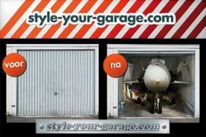 Foto-billboards voor garagedeuren