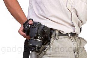 Fotocamera aan je riem met Brando Waist Belt Lock
