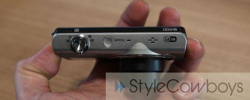 Fotomomenten direct delen met Samsung SH100 WiFi