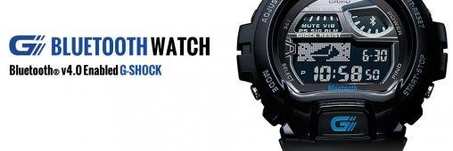 G-Shock Horloge praat met iPhone