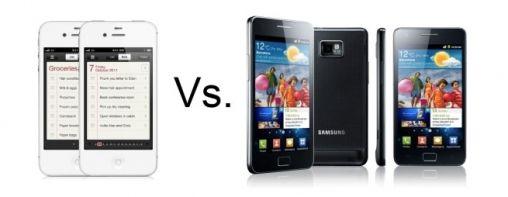 Galaxy S II vs. iPhone 4S