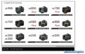 Gerucht: De Sony a750 DSLR