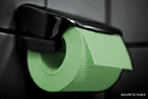 Glow-in-the-dark toilet-papier (ja echt)