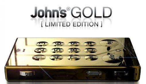 Golden John's phone