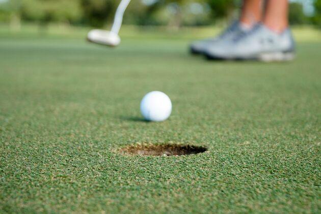 Golfen sport populair