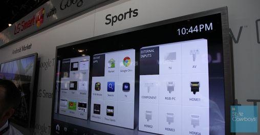 Google TV CES 0781