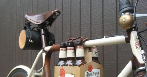 Handige Bierhouder voor op de Fiets