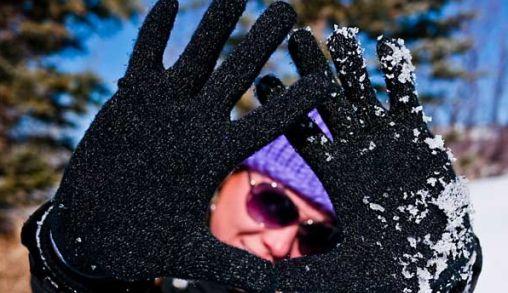 Handschoenen met zilver: Agloves