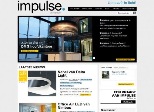 Homepage Impulse_juni2011