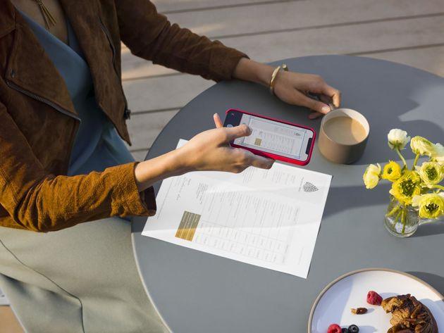 HP Smart App scanning
