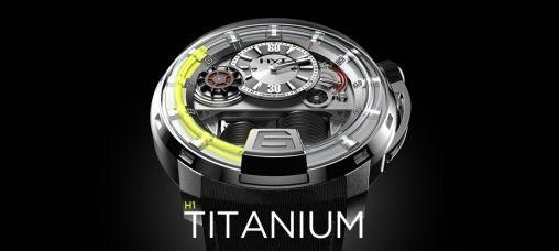 HYT H1 Titanium Horloge 1