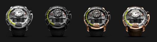 HYT H1 Titanium Horloge 2