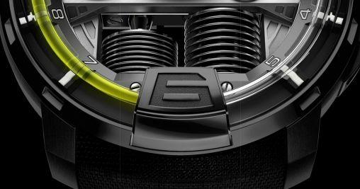 HYT H1 Titanium Horloge 3