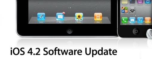 iOS 4.2 voor iPhone, iPad en iPod nu Beschikbaar