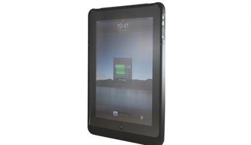 iPad case met accu