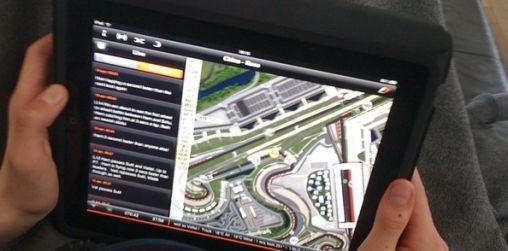 iPad F1 2010 Timing App Video
