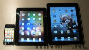 iPad met 8 inch display Gespot?