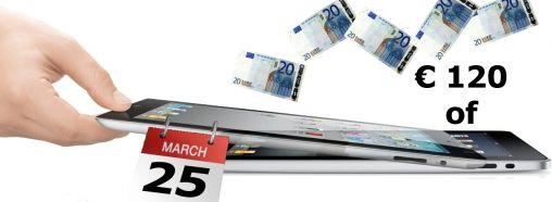 iPad omruilen voor iPad 2, het kan...